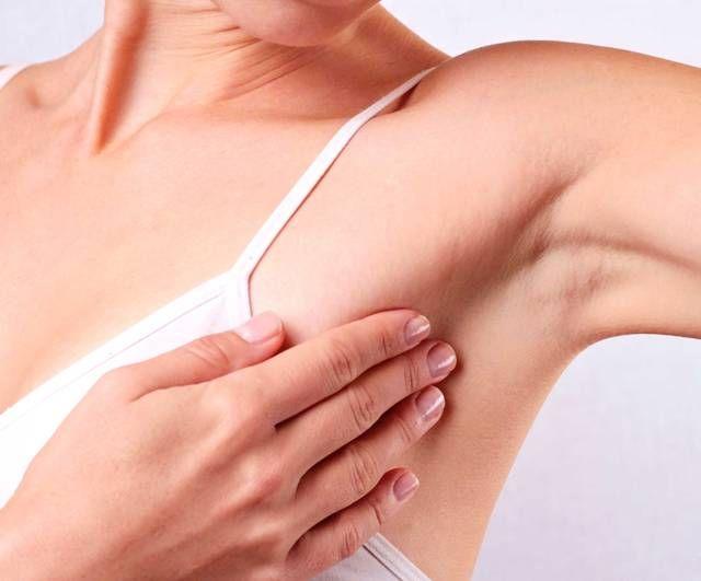 Повреждение кожи под мышкой