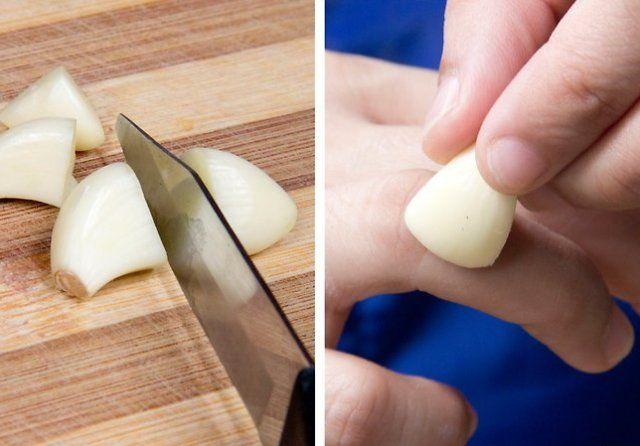 Как применять зубчик чеснока от папиллом