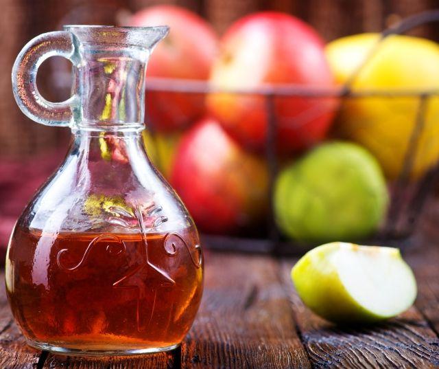 Как выглядит яблочный уксус