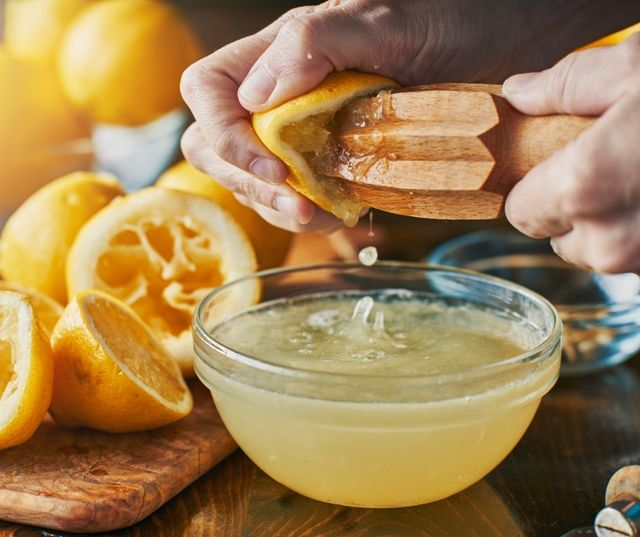 Сок лимона против папиллом на спине