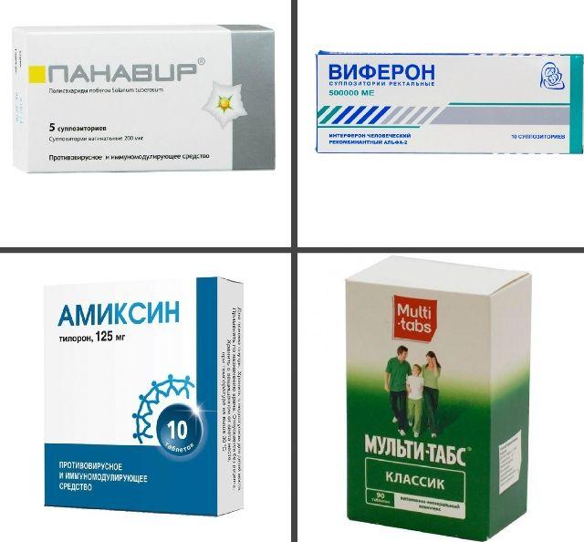 Препараты для лечения папиллом во рту