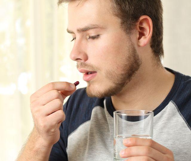 Прием противовирусных препаратов