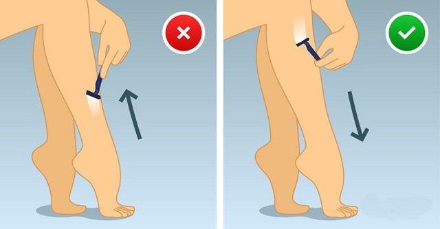 Как правильно брить ноги, чтобы избежать фолликулита после бритья