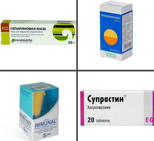 Препараты при зуде папиллом