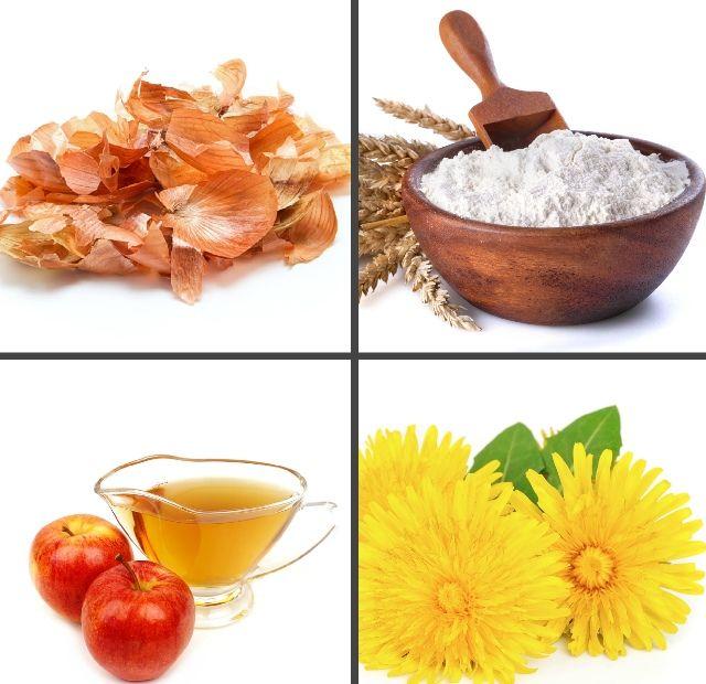 Ингредиенты для приготовления мази от папиллом у ребенка
