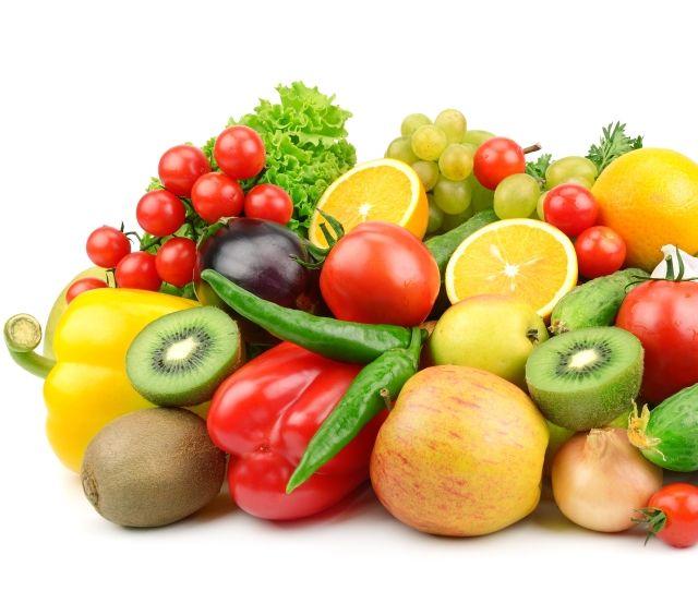 Фрукты и овощи для профилактики бородавок на нижнем веке